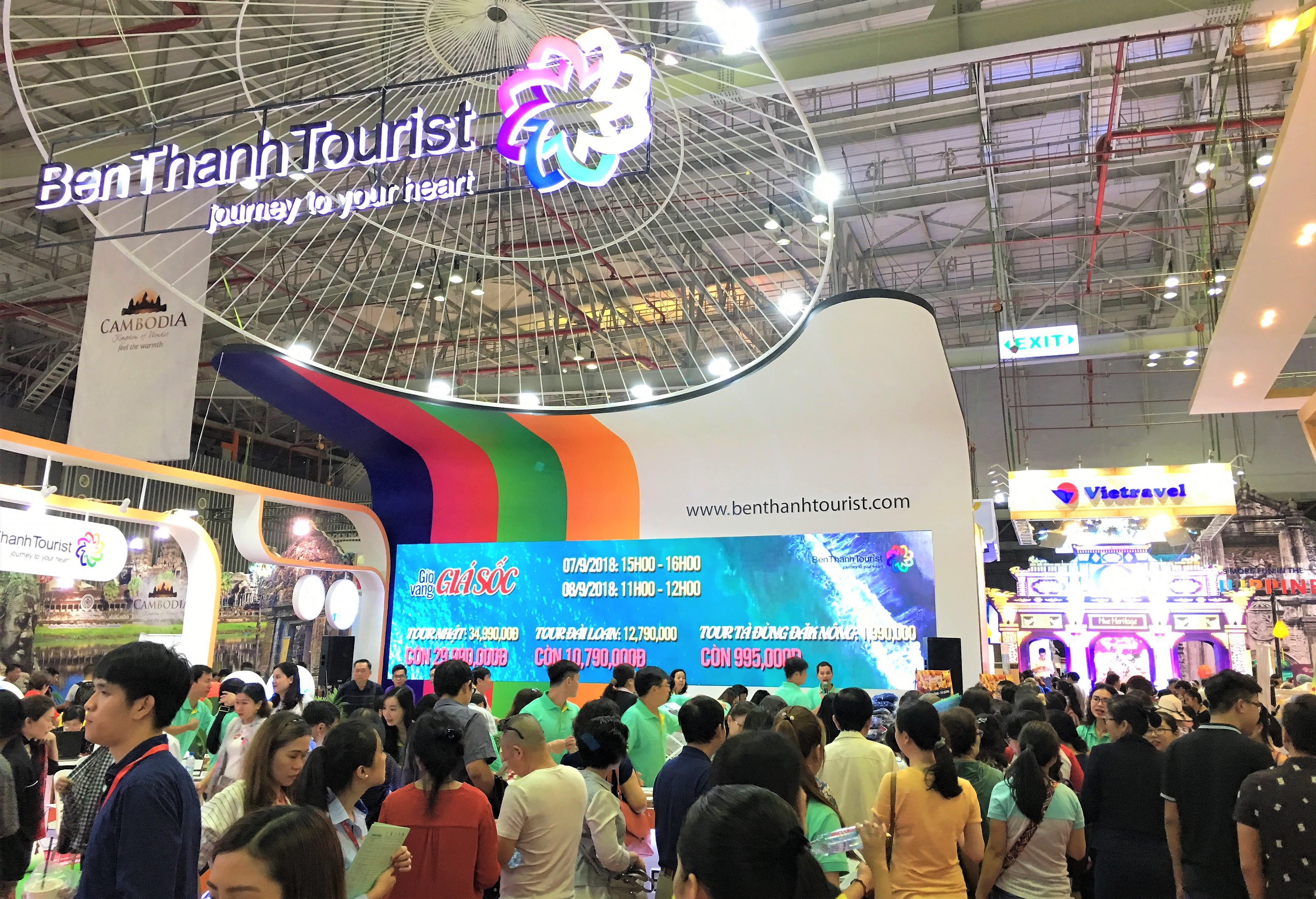 Trade Fair Stands Definition : Ite hcmc: mekongs largest travel event home